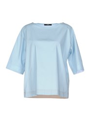 Seventy By Sergio Tegon Shirts Blouses Women Sky Blue