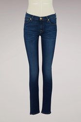 7 For All Mankind The Skinny Mid Rise Jeans Bair Duchess