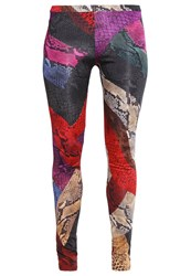 Just Cavalli Leggings Multicolor Multicoloured