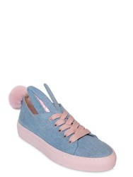 Minna Parikka 20Mm Bunny Denim Sneakers