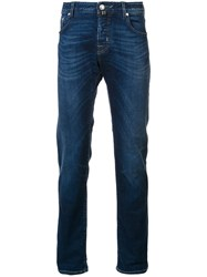 Jacob Cohen 'Limited Edition' Washed Jeans Blue