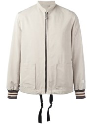 Lanvin Racing Jacket Nude Neutrals