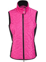 Daily Sports Harley Quilted Gilet Red