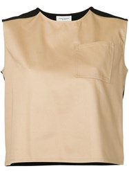 Public School Kadar Sleeveless Top Cotton Nude Neutrals