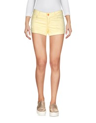 Refrigiwear Denim Denim Shorts Yellow