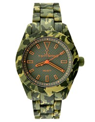 Toy Watch Hunter Green Camouflage