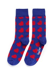 Happy Socks Diagonal Heart Multi Colour