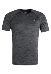 Your Turn Active Sports Shirt Jet Black