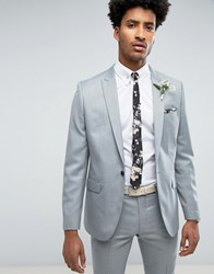 Farah Skinny Wedding Suit Jacket In Mint Green