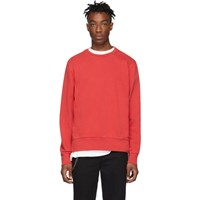 Ksubi Red Seeing Lines Sweatshirt