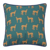 Fabienne Chapot Cheetah Pillow Blue