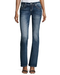 Miss Me Faded Boot Cut Jeans Med 227