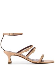 Manu Atelier Strappy Buckle Sandals 60