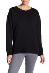 Joe's Jeans Leira Hi Lo Sweatshirt Black
