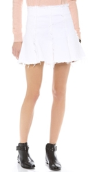 Bec And Bridge Yuki Denim Skirt White