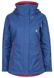 Salomon Fantasy Ski Jacket Dolomite Blue Petrol