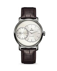 Rado Diamaster Automatic Watch 43Mm White Brown