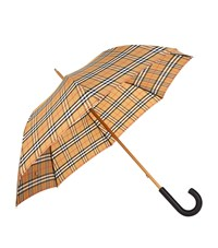 Burberry Vintage Check Walking Umbrella Multi