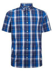 Penfield Rico Short Sleeve Shirt Blue