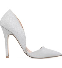 Miss Kg Andi 2 Metallic Court Shoes Silver