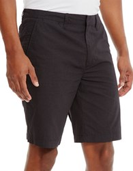 Kenneth Cole Dot Print Cotton Shorts Black Combo