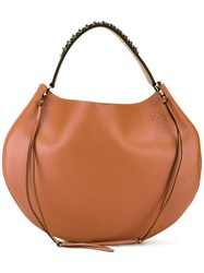 Loewe Fortune Hobo Shoulder Bag Brown