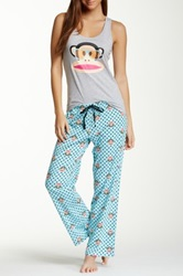 Paul Frank Fun Pj Set Gray