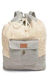 Rip Curl 'Outlaw' Mixed Media Backpack