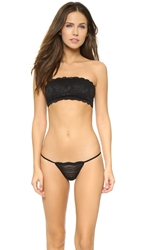 Cosabella Never Say Never Padded Flirtie Bandeau Bra Black