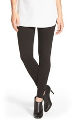 Lysse High Waist Denim Leggings Black