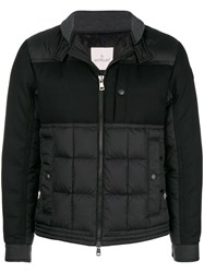 Moncler Zipped Jacket Black