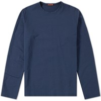 Barena Luigi Long Sleeve Tee Blue