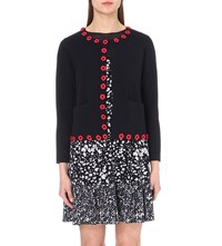 Claudie Pierlot Marathon Stretch Knit Cardigan Marine