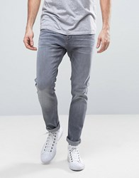 Esprit Skinny Fit Jeans In Mid Grey Wash Medium Grey