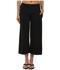 Royal Robbins Breeze Thru Culotte Jet Black Women's Casual Pants