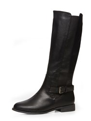 Dorothy Perkins Knee High Riding Boots Black