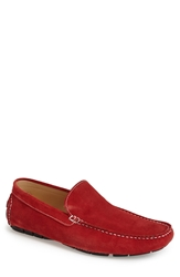 Carlo Pazolini Suede Driving Shoe Men Red