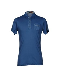 Hamaki Ho Polo Shirts Slate Blue