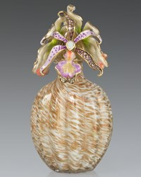 Orchid Cluster Perfume Bottle Jay Strongwater