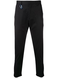 Low Brand Cropped Tailored Trousers Black