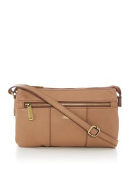 Ollie And Nic Casey Small Crossbody Bag Tan