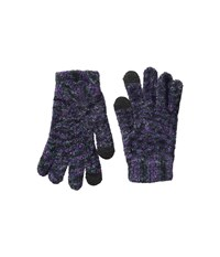 Steve Madden Space Dyed Itouch Gloves Cool Dress Gloves Blue