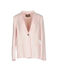 Space Style Concept Blazers Light Pink