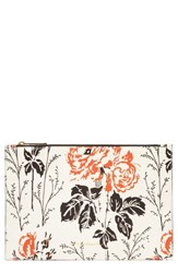 Victoria Beckham Women's Small Simple Leather Pouch