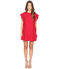 Red Valentino Crepe Envers Satin Dress Ibisco