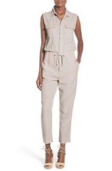 Women's Hudson Jeans 'Everly' Crop Sleeveless Utility Jumpsuit