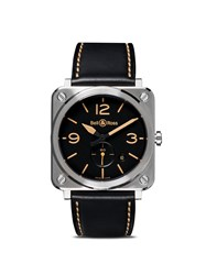 Bell And Ross Br S Steel Heritage 39Mm Black