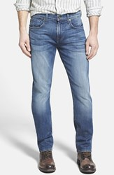 Men's 7 For All Mankind 'The Straight Luxe Performance' Tapered Straight Leg Jeans Skydiver