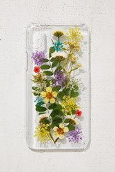 Urban Outfitters Buncha Flowers Iphone X Case Clear