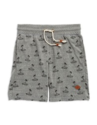 Altru Apparel Palm Tree Shorts Grey